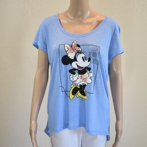 "Disney Park Minnie Mouse ""Love Always Wins"" Tee"